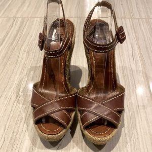 Louboutin Platform Leather Sandals